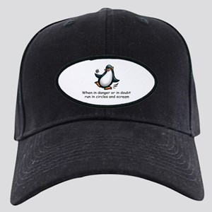 Screaming Penguin Black Cap