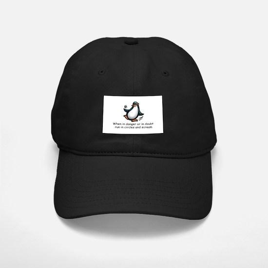 Screaming Penguin Baseball Hat