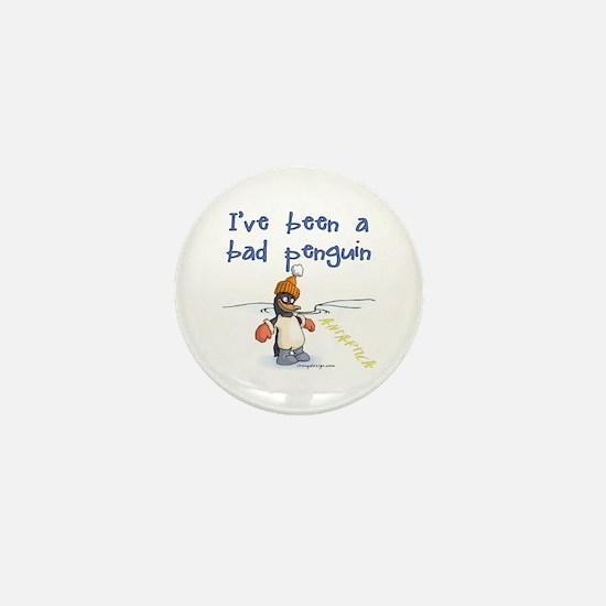 Bad Penguin Mini Button