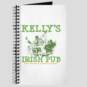 Kelly's Irish Pub Personalized Journal