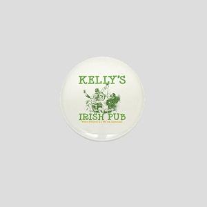 Kelly's Irish Pub Personalized Mini Button