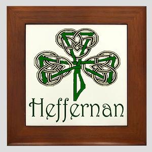 Heffernan Shamrock Framed Tile