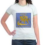 USS LOWRY Jr. Ringer T-Shirt