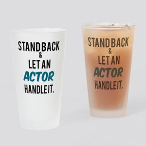 Actor Drinking Glass