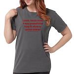 Liberal mobs Womens Comfort Colors® Shirt