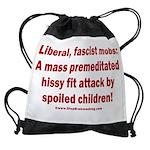 Liberal mobs Drawstring Bag