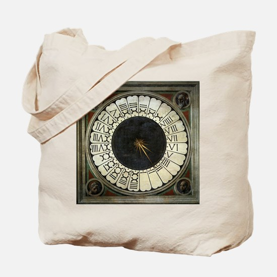 Clock in the Duomo by Uccello Tote Bag
