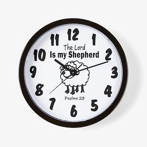 23 Psalm Wall Clock