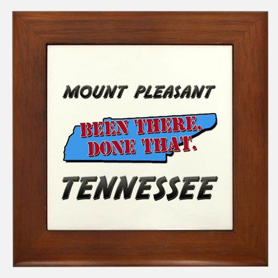 mount pleasant tennessee - been there, done that F