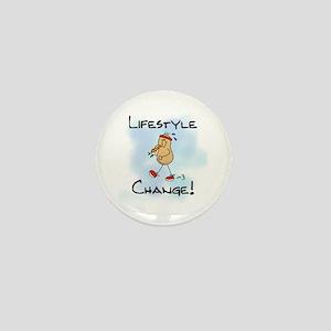 Peanut Lifestyle Change Mini Button
