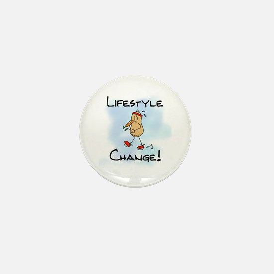 Peanut Lifestyle Change Mini Button