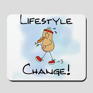 Peanut Lifestyle Change Mousepad