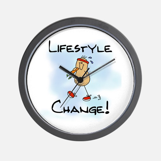 Peanut Lifestyle Change Wall Clock