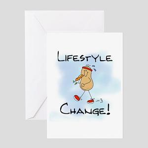 Peanut Lifestyle Change Greeting Card