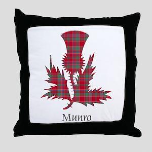 Thistle-Munro Throw Pillow