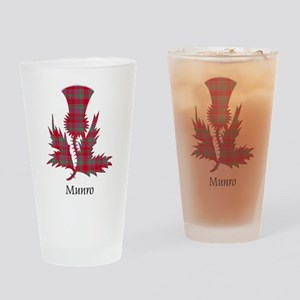 Thistle-Munro Drinking Glass
