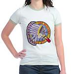 USS MENHADEN Jr. Ringer T-Shirt