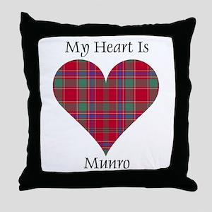Heart-Munro Throw Pillow