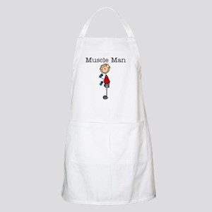 Muscle Man BBQ Apron