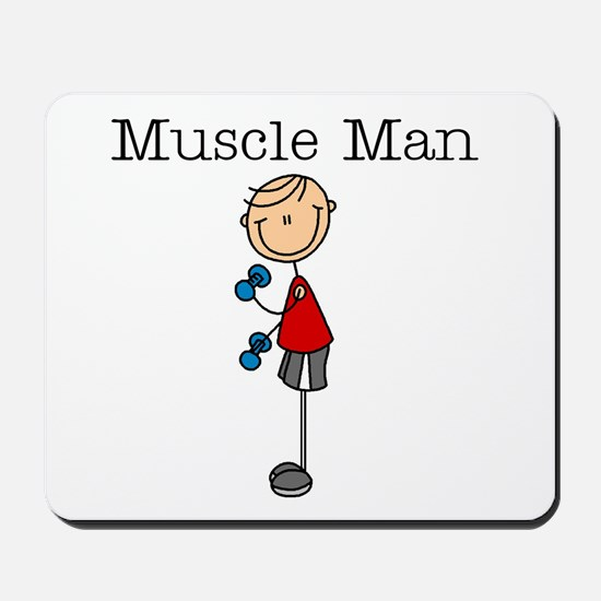 Muscle Man Mousepad