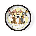 Can't Have One Corgi Clock