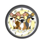 Can't Have One Corgi Clock