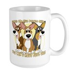Can't Have One Corgi Large Mug