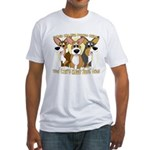 Can't Have One Corgi Fitted T-Shirt