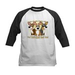 Can't Have One Corgi Kids Baseball Jersey