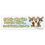 Can't Have One Corgi Bumper Sticker