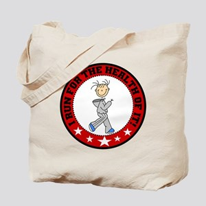 Run for Health Tote Bag