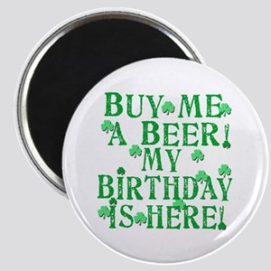 Buy Me a Beer Irish Birthday Magnet