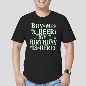 Buy Me a Beer Irish Birthday Men's Fitted T-Shirt