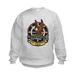 USS LITTLE ROCK Kids Sweatshirt