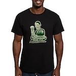 Obama's Irish Pub Men's Fitted T-Shirt (dark)