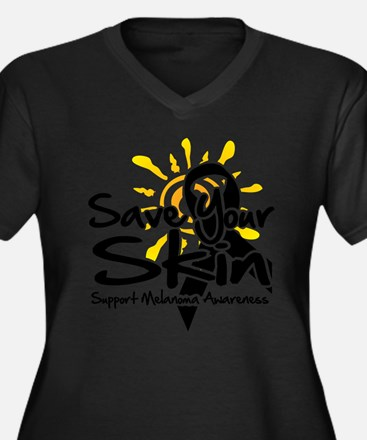 Save Your Skin Plus Size T-Shirt