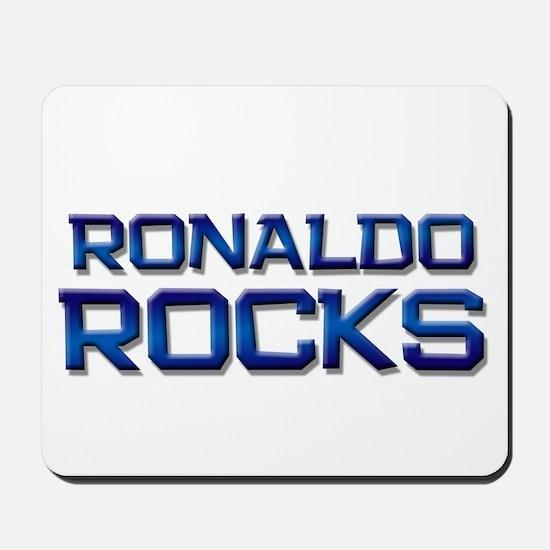 ronaldo rocks Mousepad