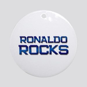 ronaldo rocks Ornament (Round)