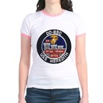 USS MEREDITH Jr. Ringer T-Shirt