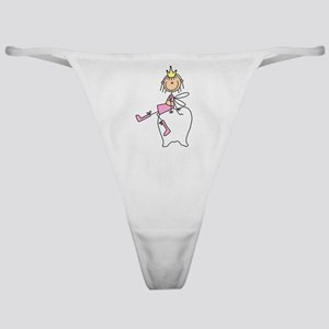 Tooth Fairy on Tooth Classic Thong