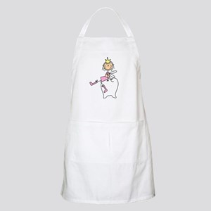 Tooth Fairy on Tooth BBQ Apron