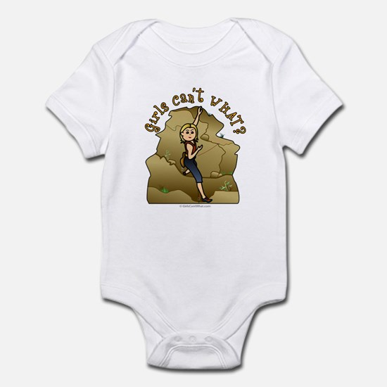 Light Rock Climber Infant Bodysuit