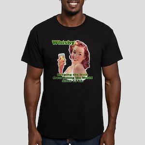 Irish Whisky Men's Fitted T-Shirt (dark)