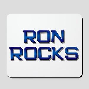 ron rocks Mousepad