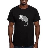 Opossum Fitted Dark T-Shirts