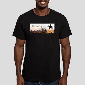 Kansas City Scout - Men's Fitted T-Shirt (dark)