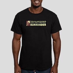 Anti-Gun Control Men's Fitted T-Shirt (dark)