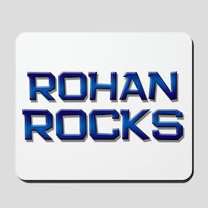 rohan rocks Mousepad
