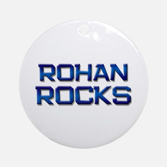 rohan rocks Ornament (Round)