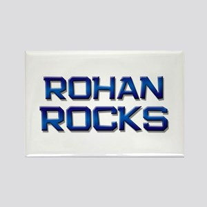 rohan rocks Rectangle Magnet